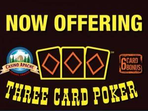 Three Card Poker at CATC